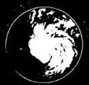 1963 Atlantic hurricane season - Image: Cindy 1963rdar