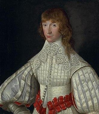 John Poulett, 2nd Baron Poulett - John Poulett, later 2nd Baron Poulett, as a young man