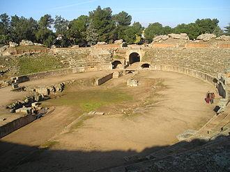 Amphitheatre of Mérida - Image: Circo romano de Merida