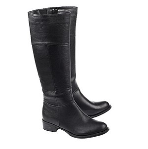 Knee-high boot - A pair of typical knee high boots