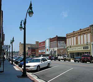 Claremore, Oklahoma - Downtown Claremore