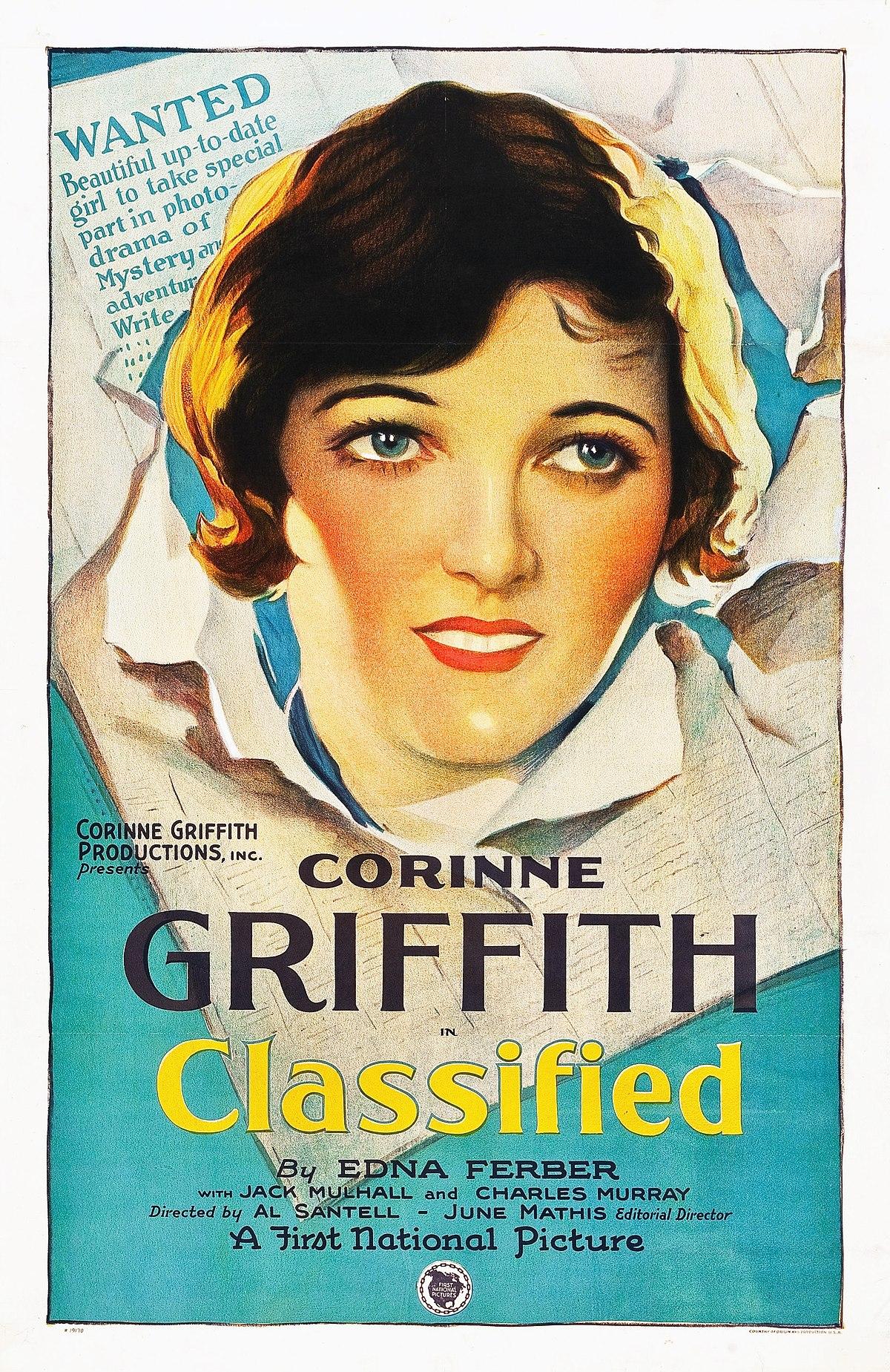 Classified (1925 film) - Wikipedia
