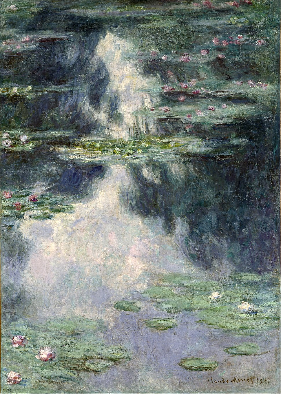 Claude Monet - Pond with Water Lilies - Google Art Project