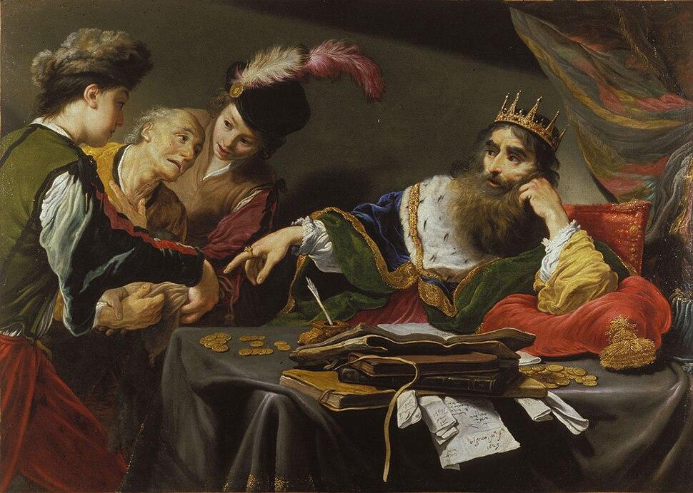 Claude Vignon - Parable of the Unforgiving Servant