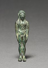 Statuette of a Kouros
