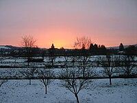 Clocher Tronville soleil levant.jpg