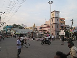 Clock Tower Centre in Chirala