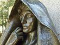 Clover Adams, sculpture by Augustus Saint-Gaudens.JPG