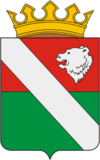 Coat of Arms of Ilinsky rayon (Perm krai) (2008).png