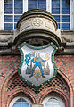 Coat of arms Odense town hall Denmark.jpg