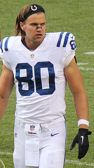 Coby Fleener - Fleener with the Indianapolis Colts in 2014