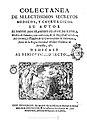 Colectanea de selectissimos secretos medicos y chyrurgicos 1737.jpg