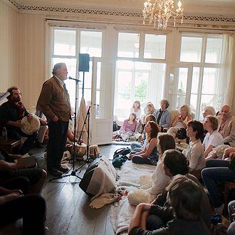 Coleman Barks - Barks reading at the Festival of Silence, Esvika, Asker, Norway, June 25, 2011