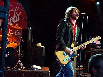 The Trews - Colin MacDonald performing in Calgary, 2006