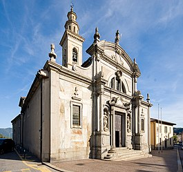 The Collegiate church complex of San Vittore at Balerna