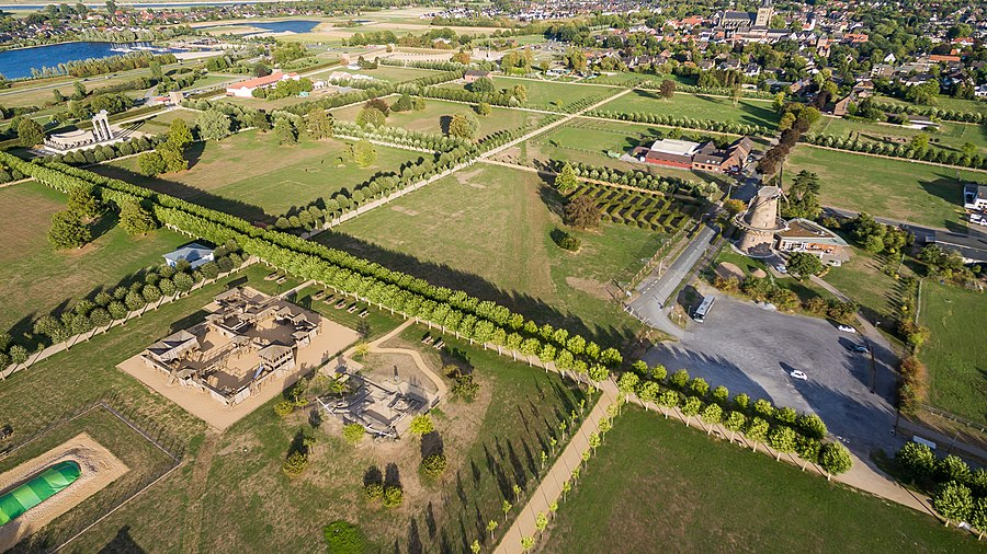 Colonia Ulpia Traiana - Aerial views -0053
