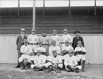 Colorado Springs Millionaires - The Colorado Springs Millionaires in 1901.