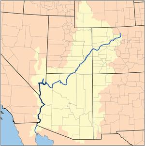 Colorado rivers afvandingsområde
