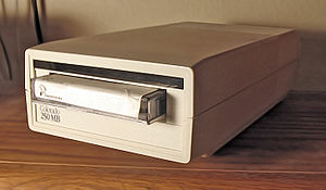 Tape drive - An external QIC tape drive.