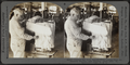 Combed silk as it appears when coming from the dressing machine. Silk industry (spun silk), South Manchester, Conn., U.S.A, by Keystone View Company.png
