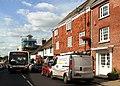 Compass Travel bus, High Street, Steyning - geograph.org.uk - 3126478.jpg