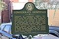 Confederate Hospitals historical marker, Americus.jpg
