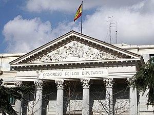 Ponciano Ponzano - Image: Congreso de los Diputados (España) 05