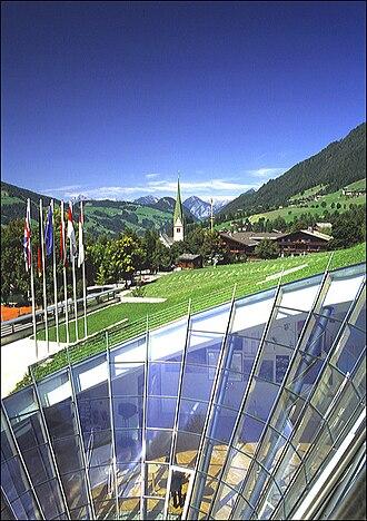 European Forum Alpbach - Congress Center in Alpbach, Austria.