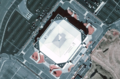 Continental airlines center satellite view.png