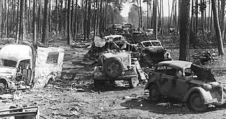 Battle of Halbe - Image: Convoy halbe 1