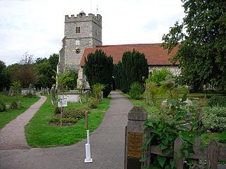 Cookham Village in Berkshire, England