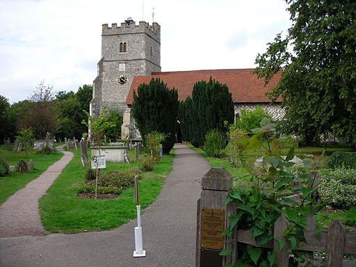 Cookham church,berkshire