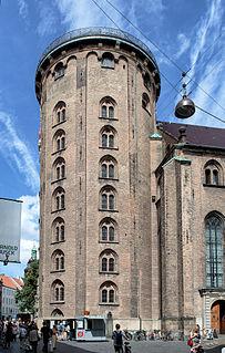 17th-century tower located in central Copenhagen, Denmark