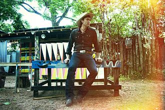 Corb Lund - Country roots singer Corb Lund, as photographed by Alexandra Valenti in Austin, Texas in 2014.
