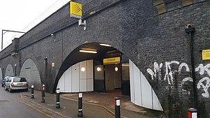 Cornbrook tram stop - Image: Cornbrook entrance