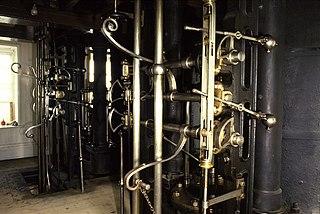 Cornish engine valve gear
