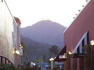 Corte Madera, California - Mt. Tamalpais viewed from Corte Madera