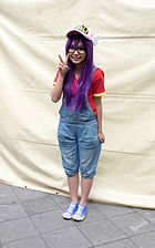 Cosplayer of Arale Norimaki in FF25 20150201.jpg