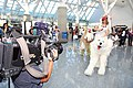 Cosplayer of San, Princess Mononoke and NTV Sony XDCAM at Anime Expo 20100703.jpg