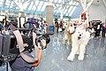 Cosplayer of San, Princess Mononoke and NTV Sony XDCAM at Anime Expo 20100703.jpg