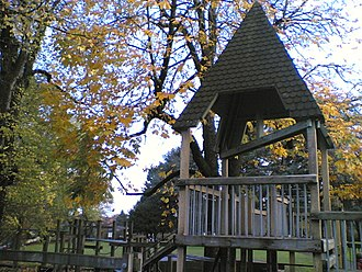 Couch Park - The former playground in 2008