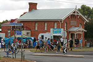 Great Victorian Bike Ride - Small towns like Macarthur benefit economically as the GVBR brings thousands of visitors