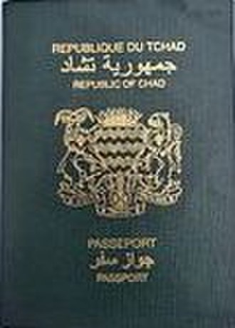 Visa requirements for Chadian citizens - A Chadian passport
