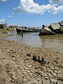 Cracking Mud on the Foreshore - geograph.org.uk - 926522.jpg