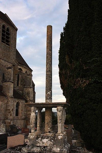 Croix de cimetière de Mézy.