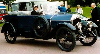 Crossley Motors - Crossley 9T 25/30 HP Phaeton 1920