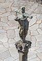 Cruceiro perante a igrexa de Santa María do Campo. Muros. Galiza MU29.jpg