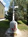 Crucifix, Our Lady of Hungary church garden, 2017 Dabas.jpg