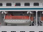 Crystal Serenity Lifeboat Tallinn 23 June 2013.JPG