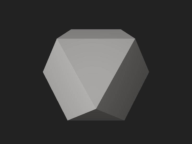 File:Cuboctahedron.stl